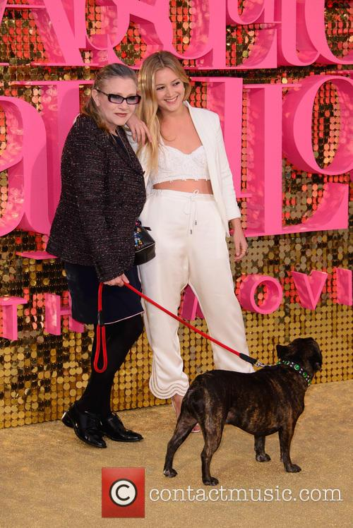 Carrie Fisher and Billie Lourd 3