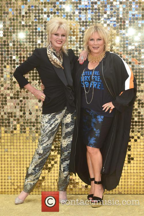 Jennifer Saunders and Joanna Lumley 2