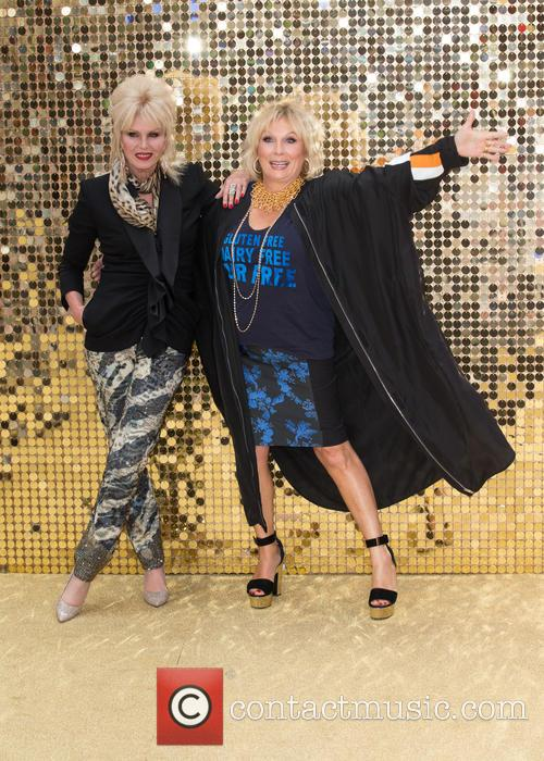 Jennifer Saunders and Joanna Lumley 6