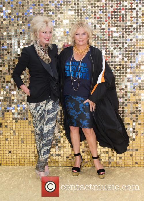 Jennifer Saunders and Joanna Lumley 7