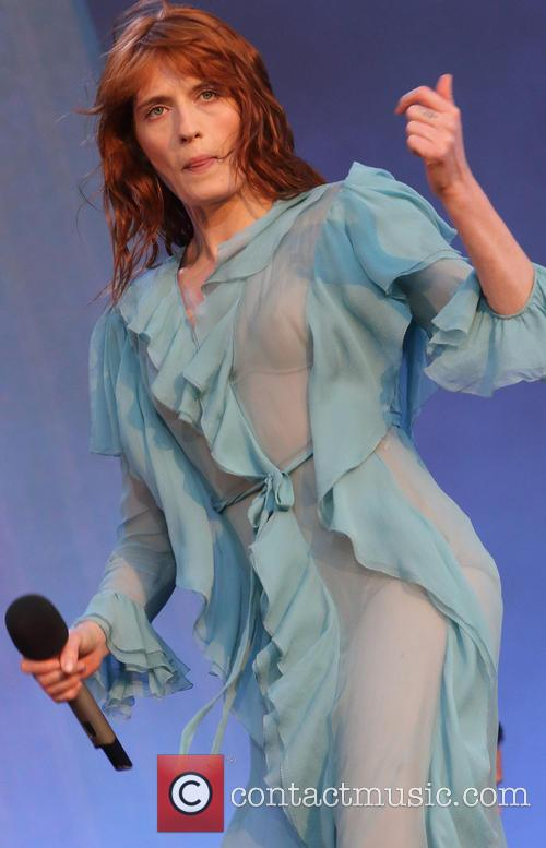 Florence + The Machine, The Machine and Florence Welch 4