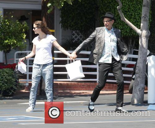Jeff Goldblum and Emilie Livingston 1