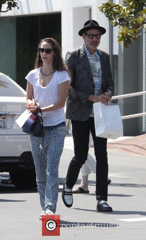Jeff Goldblum and Emilie Livingston 9