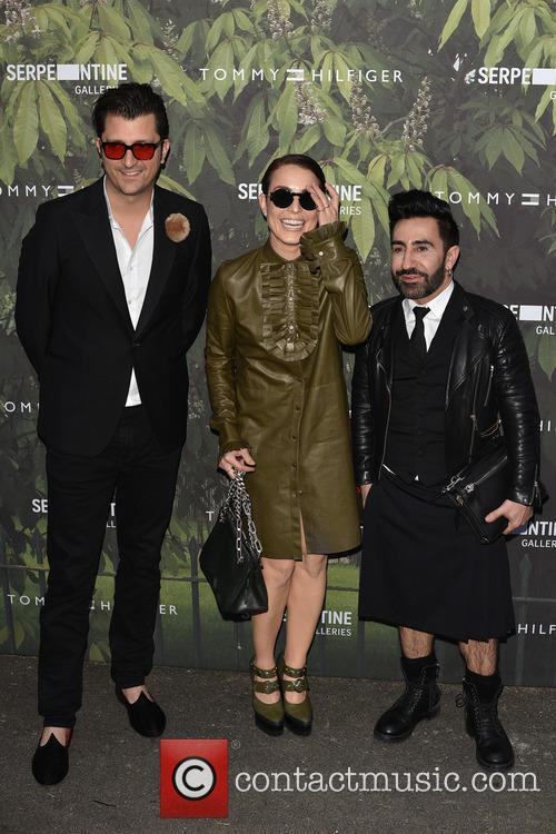 Noomi Rapace and Guest 1