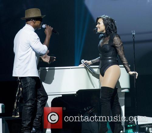 Jamie Foxx and Demi Lovato 1