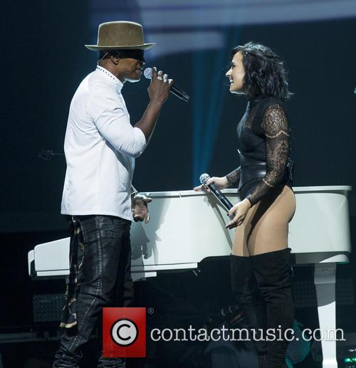 Jamie Foxx and Demi Lovato 2