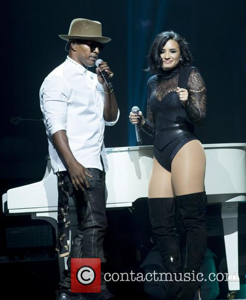 Jamie Foxx and Demi Lovato 4