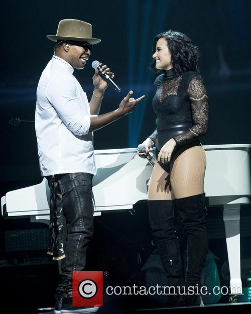 Jamie Foxx and Demi Lovato 6