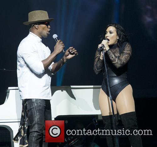 Jamie Foxx and Demi Lovato 7