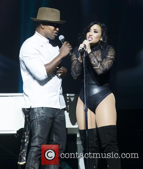 Jamie Foxx and Demi Lovato 11