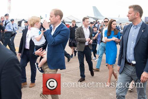 Prince George, Prince William, The Duke Of Cambridge and The Duchess Of Cambridge 3