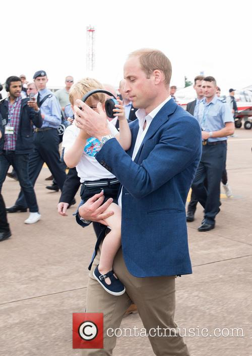 Prince George, Prince William and The Duke Of Cambridge 5