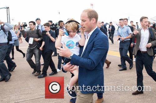 Prince George, Prince William and The Duke Of Cambridge 6