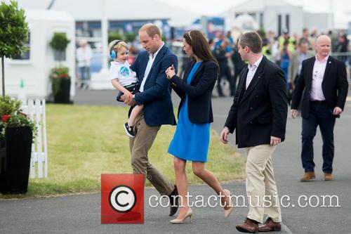 Prince George, Prince William, The Duke Of Cambridge and The Duchess Of Cambridge 10