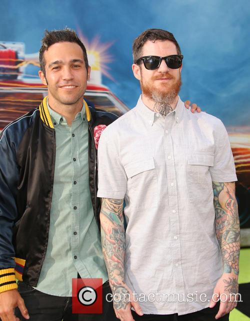 Pete Wentz and Andy Hurley 1