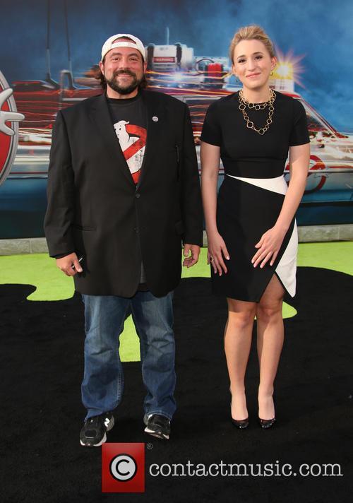 Kevin Smith and Jennifer Schwalbach Smith