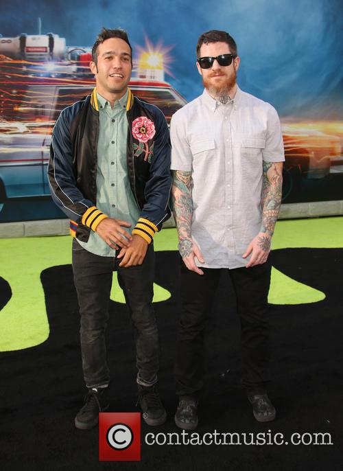 Pete Wentz and Andy Hurley 2