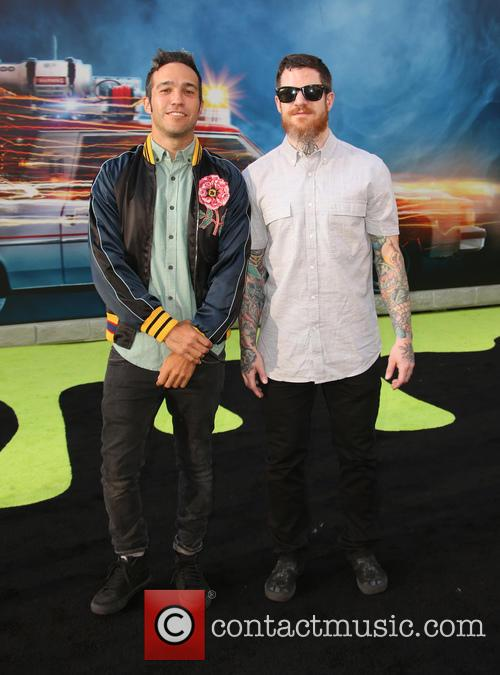 Pete Wentz and Andy Hurley 3