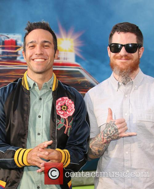 Pete Wentz and Andy Hurley 6