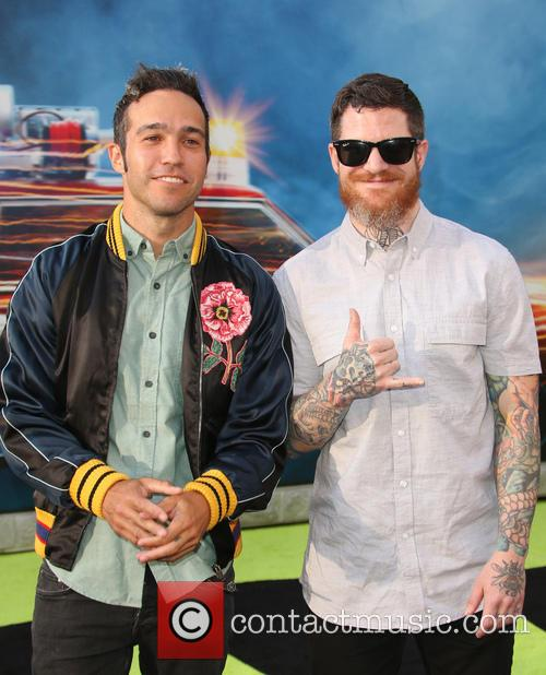 Pete Wentz and Andy Hurley 7