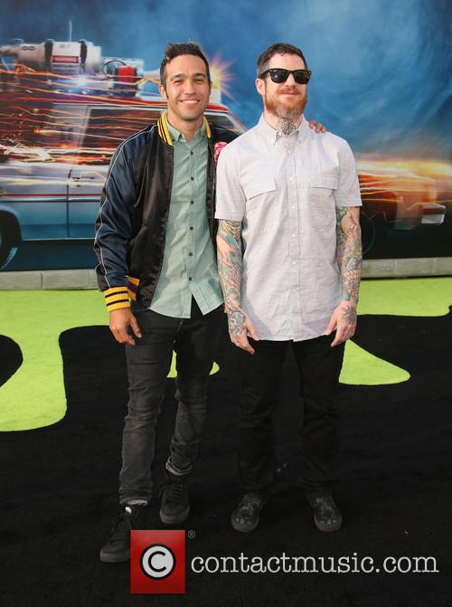 Pete Wentz and Andy Hurley 8