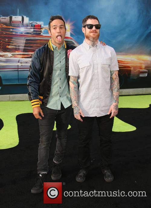Pete Wentz and Andy Hurley 9