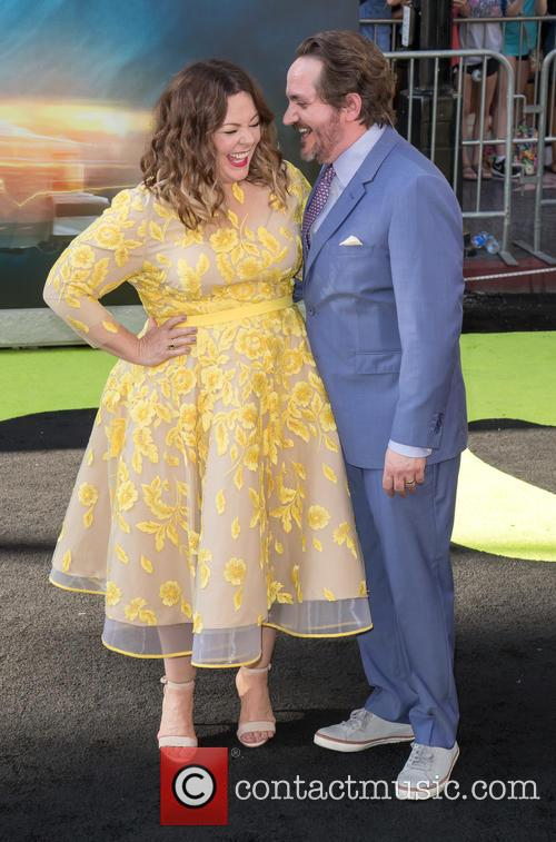 Melissa Mccarthy, Ben Falcone and Ghostbusters 3