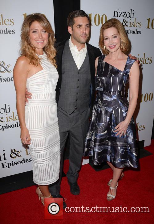 Sasha Alexander, Jordan Bridges and Sharon Lawrence