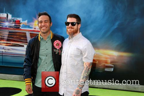 Pete Wentz and Andy Hurley 5