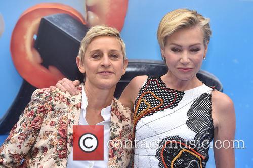 Ellen Degeneres and Portia De Rossi 2