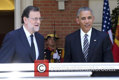 President Barack Obama and Mariano Rajoy 2