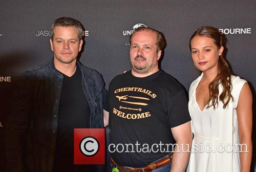 Matt Damon, Guest and Alicia Vikander 7