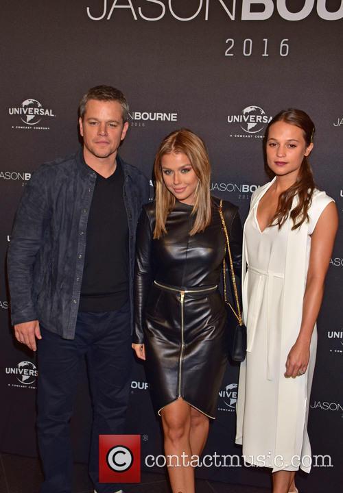 Matt Damon, Kim Gloss and Alicia Vikander 8