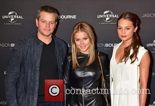 Matt Damon, Kim Gloss and Alicia Vikander 9