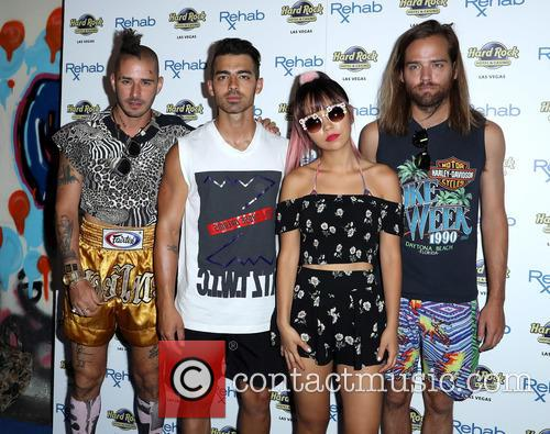 Dnce, Joe Jonas, Jack Lawless, Cole Whittle and Jinjoo Lee 5