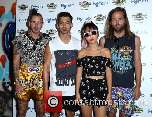 Dnce, Joe Jonas, Jack Lawless, Cole Whittle and Jinjoo Lee 6