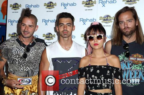 Dnce, Joe Jonas, Jack Lawless, Cole Whittle and Jinjoo Lee 7