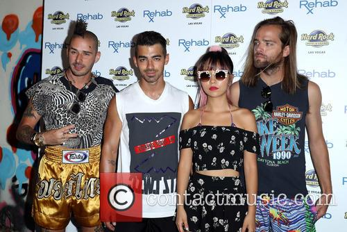 Dnce, Joe Jonas, Jack Lawless, Cole Whittle and Jinjoo Lee 9