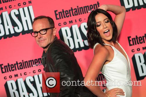 Clark Gregg, Chloe Bennet and Entertainment Weekly