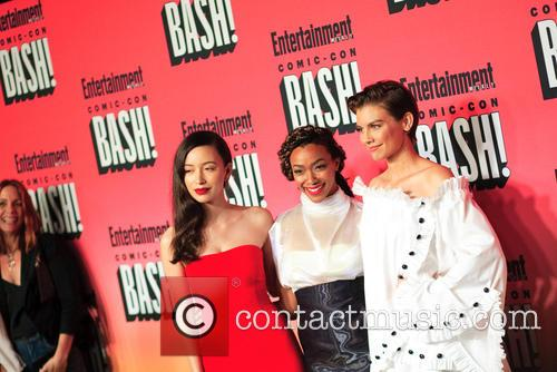 Christian Serratos, Lauren Cohan and Sonequa Martin 2