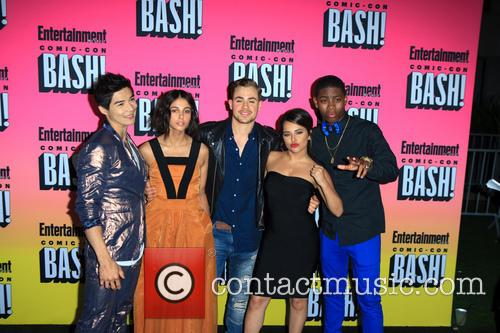 Naomi Scott, Ludi Lin, Dacre Montgomery, Becky G and Rj Cyler 2