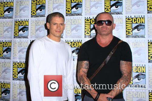 Wentworth Miller and Dominic Purcell 2