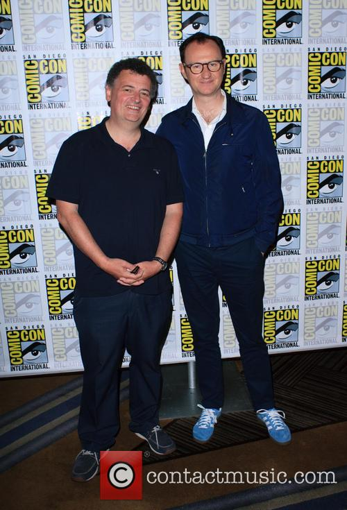 Steven Moffat and Mark Gatiss