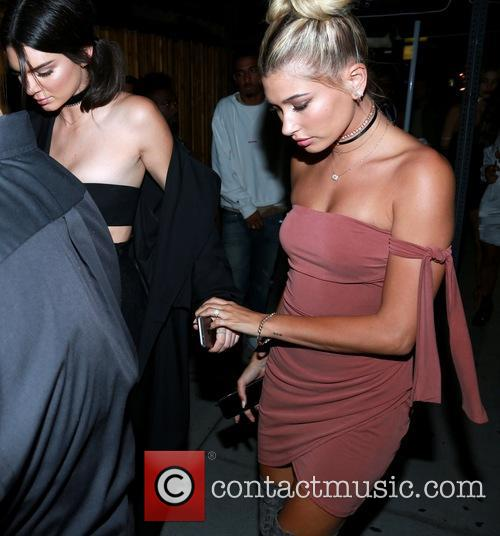 Kendall Jenner and Hailey Baldwin 4