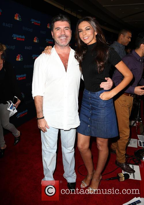 Simon Cowell and Terri Seymour 1