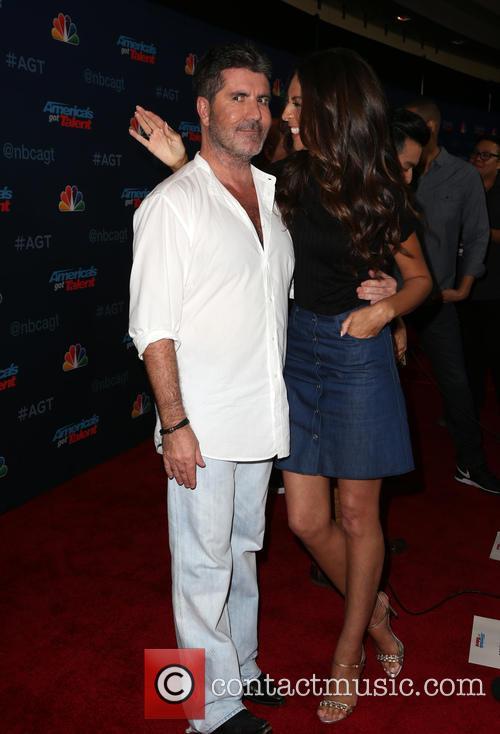 Simon Cowell and Terri Seymour 2
