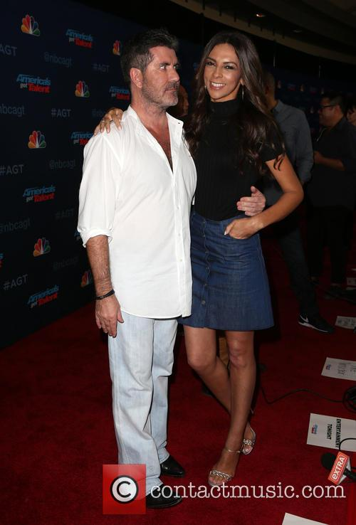 Simon Cowell and Terri Seymour 9