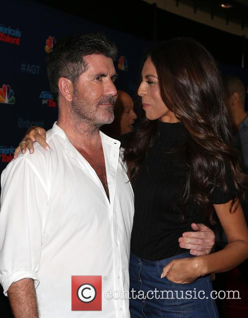 Simon Cowell and Terri Seymour 10