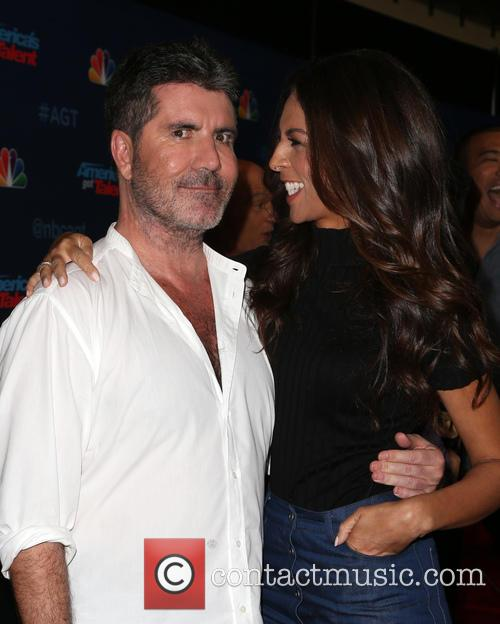 Simon Cowell and Terri Seymour 11