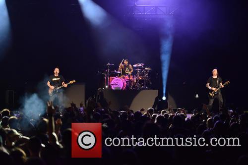 Matt Skiba, Travis Barker and Mark Hoppus 4